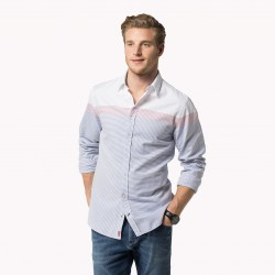 Belike-0887894015 ENGINEE-HOMME-VETEMENTS-CHEMISE-TOMMY HILFIGER